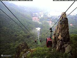 Cableway indispensable in summer and winter