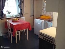 One corner of the cozy kitchen