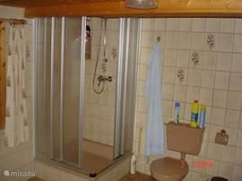 Bathroom shower on the ground floor