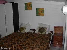 Tweede slaapkamer met airco.