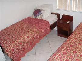 Derde slaapkamer met airco.