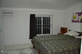 Vierde slaapkamer met airco.