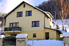 Apartment Svoboda of Czech Republic in the Giant Mountains nearby slopes. For all your family holidays the ideal place. Quiet area for up to 8 people.