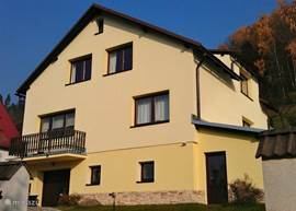 Apartment Svoboda in the Giant Mountains. Exterior renovated in 2011.