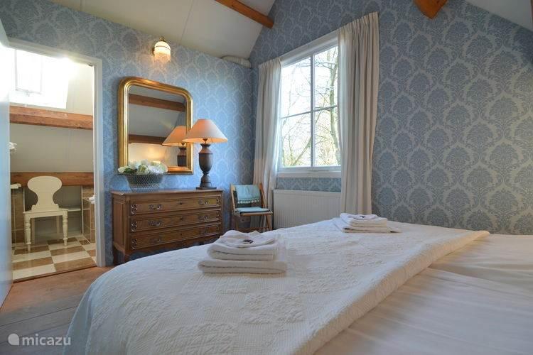 Eerste slaapkamer Koetshuis