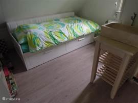 tweede slaapkamer; mogelijkheid voor een 2-persoonsbed.