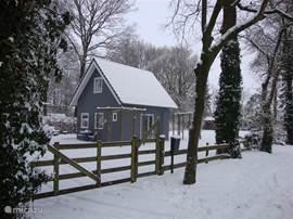 'thuisje in de sneeuw