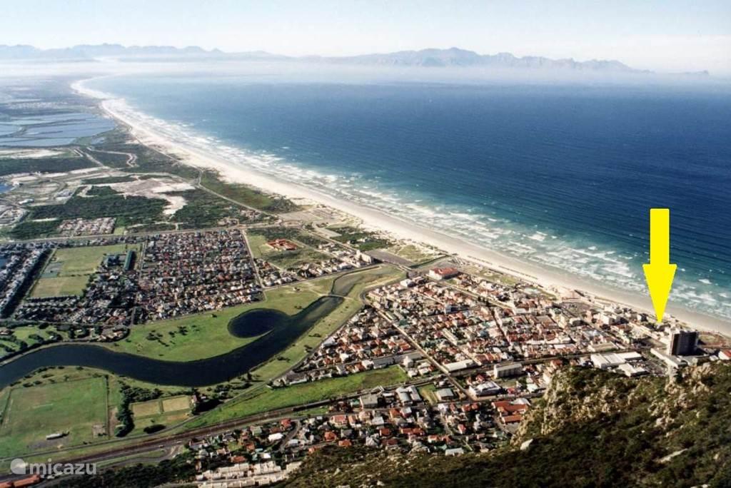 Vakantiehuis Zuid-Afrika, Kaapstad (West-Kaap), Muizenberg - Kaapstad Appartement 'Sea Life' Muizenberg