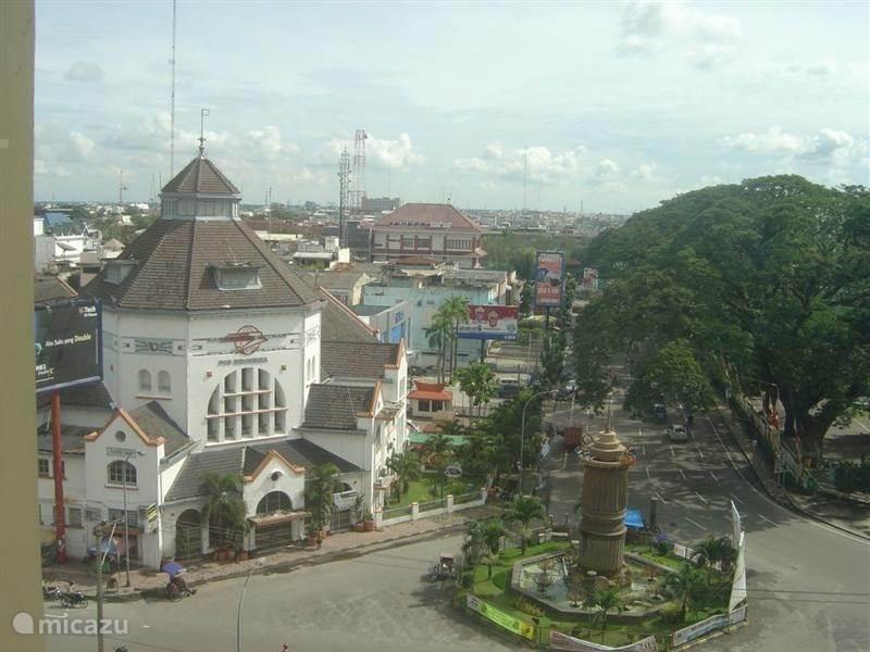 Aankomst in Medan