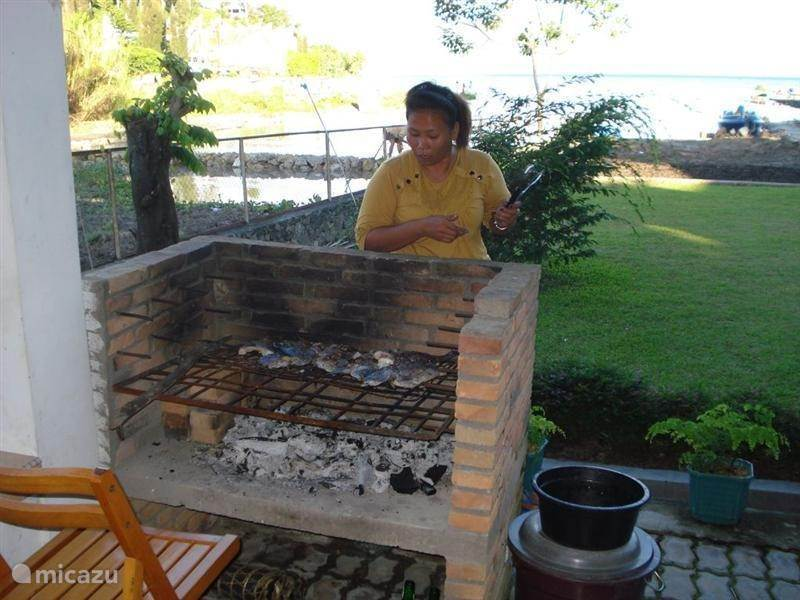 Horas Family Home Barbeque