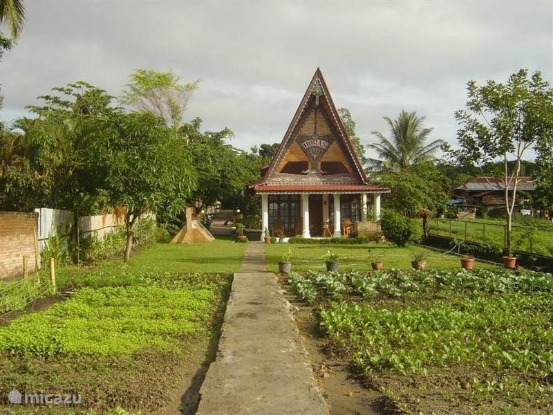 Vakantiehuis Indonesië, Sumatra, Tuk Tuk, Samosir Vakantiehuis Horas Family Home