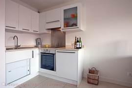 Open gourmet kitchen