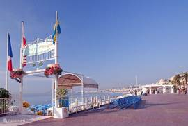 Beach Pavilions with sunbeds and service