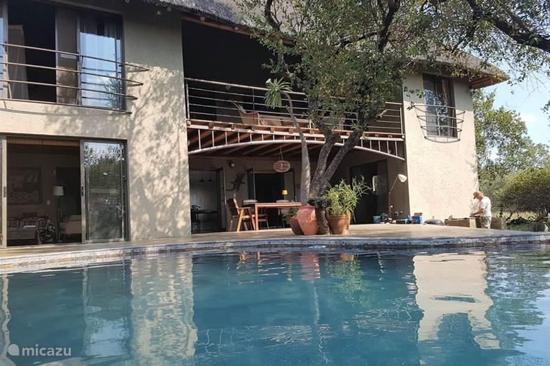 Vakantiehuis Zuid-Afrika, Mpumalanga, Marloth Park Villa Zebra's Nest Mooiste huis Krugerpark