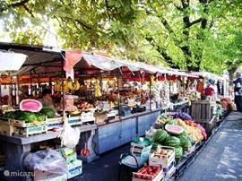 Dagelijkse markt Trogir