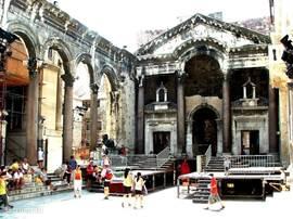 Split, Peristil, zomertheater