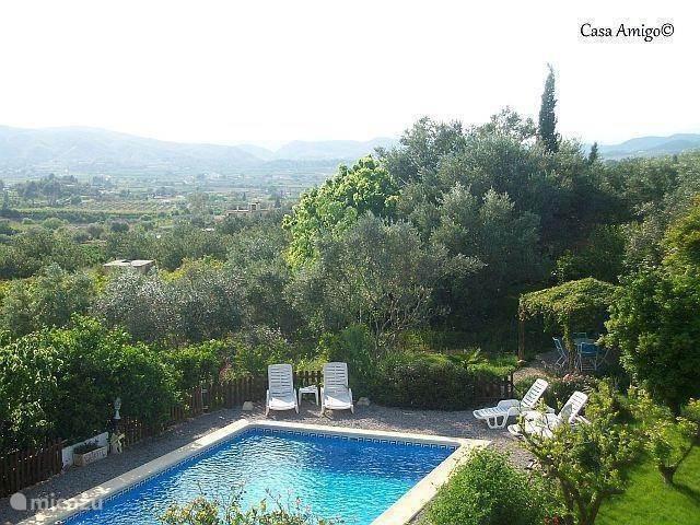 De ligging van Casa Amigo