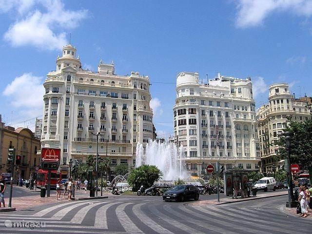 De stad Valencia