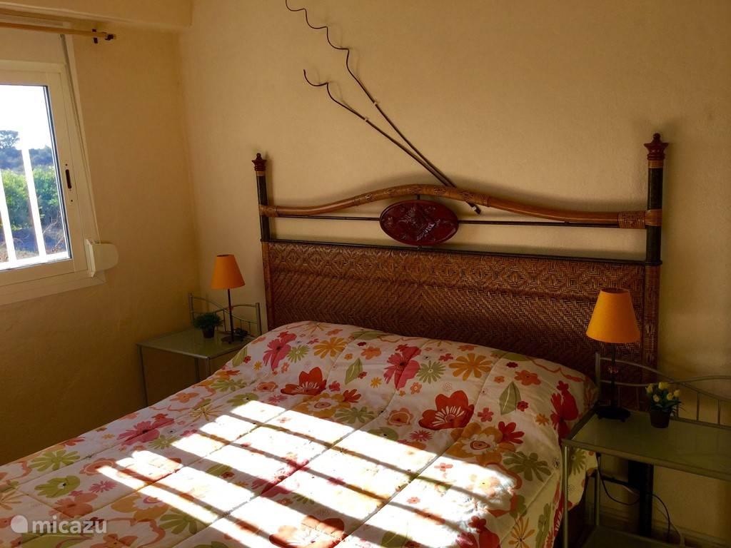 2-persoons slaapkamer in de vakantie accommodatie