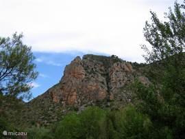 Een tocht door de bergen