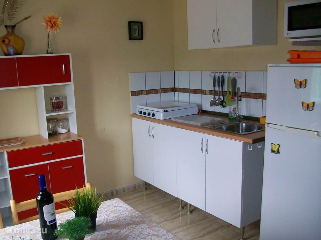 De keuken in de vakantie accommodatie