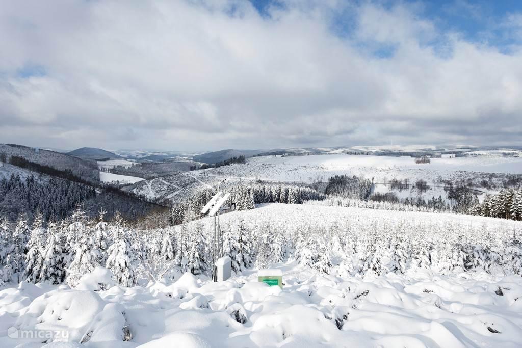 Vanaf de Kahler Asten heeft u een adembenemend uitzicht.