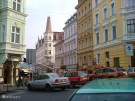 the beautiful Karlovy Vary