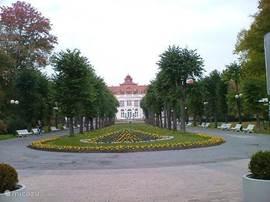 park in Karlovy Vary