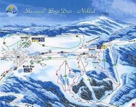 ski slopes near Bozi Dar