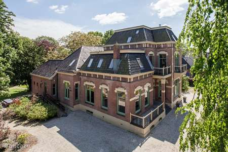 Vakantiehuis Nederland, Drenthe, Drouwenermond - villa Huize Tergast*****