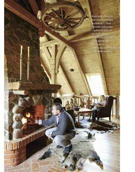 Pagina 5 artikel in Pool Country Living Blad