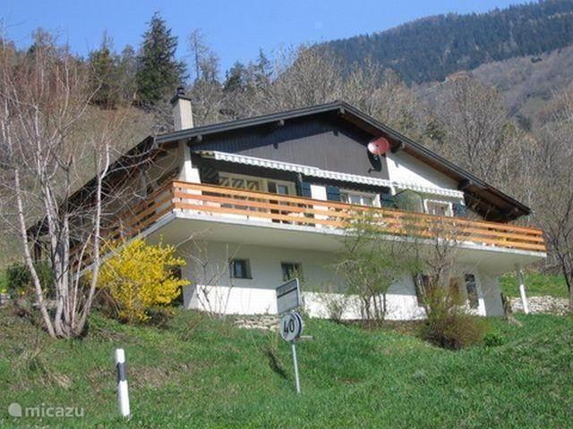 Vakantiehuis Zwitserland, Wallis, Mörel chalet Stella Alpina  2 -  Oost
