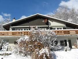 Ook in de winter een ideaal stekje. Uitvalsbasis voor skiën, langlaufen, Snowboarden en Winterwandern,