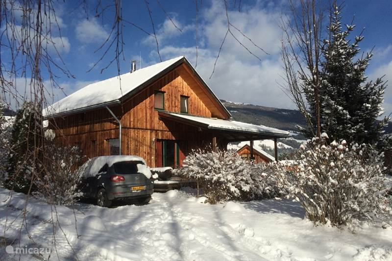 Vakantiehuis Oostenrijk, Stiermarken, Stadl an der Mur Chalet Almchalet