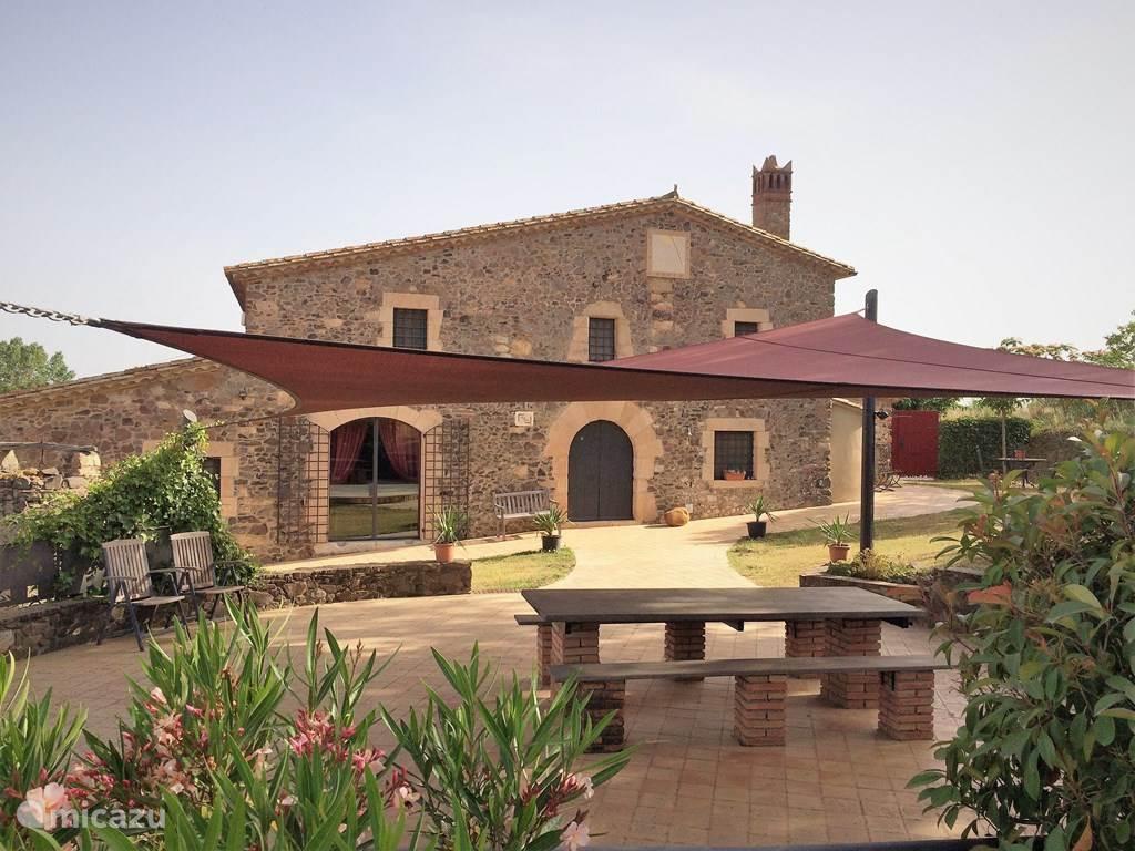 Vakantiehuis Spanje, Costa Brava, Macanet de la Selva Vakantiehuis Mas Vidal