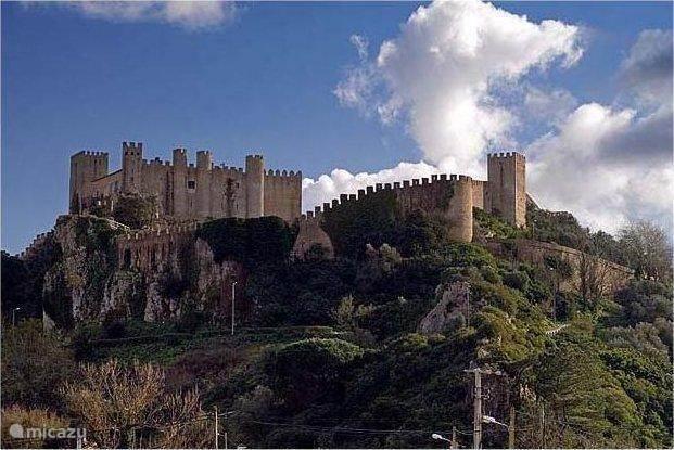 Het kasteel van Obidos