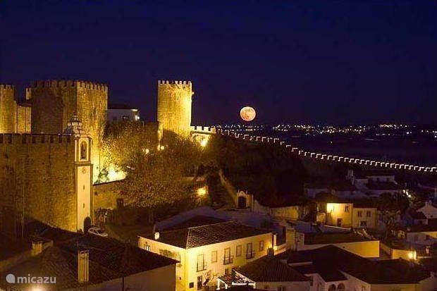 Het middeleeuwse stadje Obidos