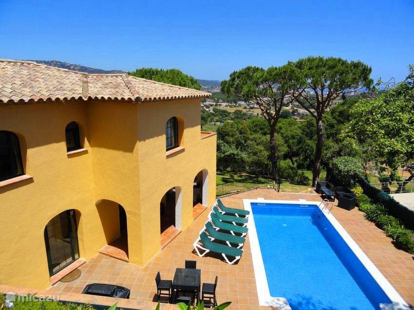 Vakantiehuis Spanje, Costa Brava, Sant Feliu de Guíxols villa Villa Sagaro , Luxe vakantievilla