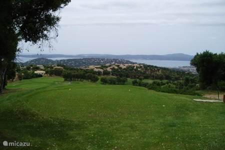 golfbanen rondom ste-Maxime