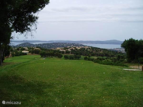 golf courses around Ste-Maxime