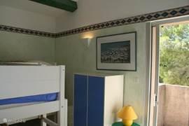 aircondtioned 4 pers. kinderslaapkamer 1e verdieping