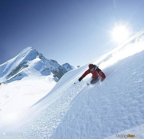 Information skiing: Kitzsteinhorn