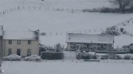 De Dal in de sneeuw