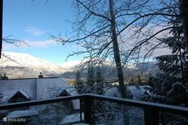 foto van mid-november. Whistler heeft altijd sneeuw!