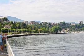 Meer van Geneve: Thonon, Evian, Montreux, Lausanne en Geneve. Leuke steden om te bezoeken.