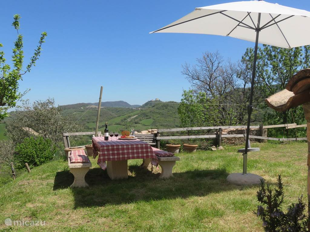 Vakantiehuis Italië, Marche, Cagli Pesaro-Urbino vakantiehuis Casa Maritine
