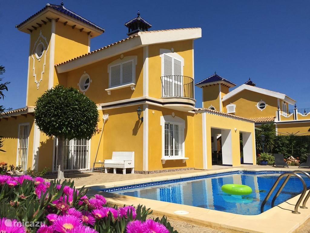 Vakantiehuis Spanje, Costa Cálida, Mazarrón - villa Villa Classico de Luxe