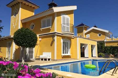 Vakantiehuis Spanje, Costa Cálida, Mazarrón – villa Villa Classico de Luxe