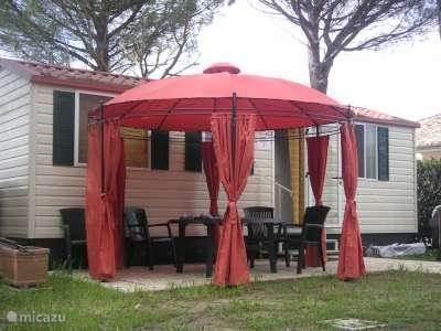 Vakantiehuis Italië, Umbrië, Assisi Stacaravan Luxe stacaravan Camping Assisi