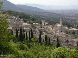 Zicht op Assisi